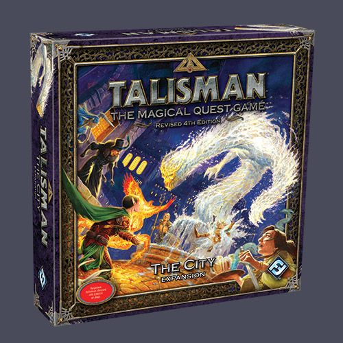 The City A New Region Expansion Board For Talisman Provides Players With Three Alternative Endings Its Own Deck A Host Of Board Games The Expanse Talisman