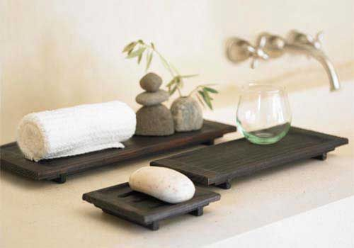 Carved Spa Trays