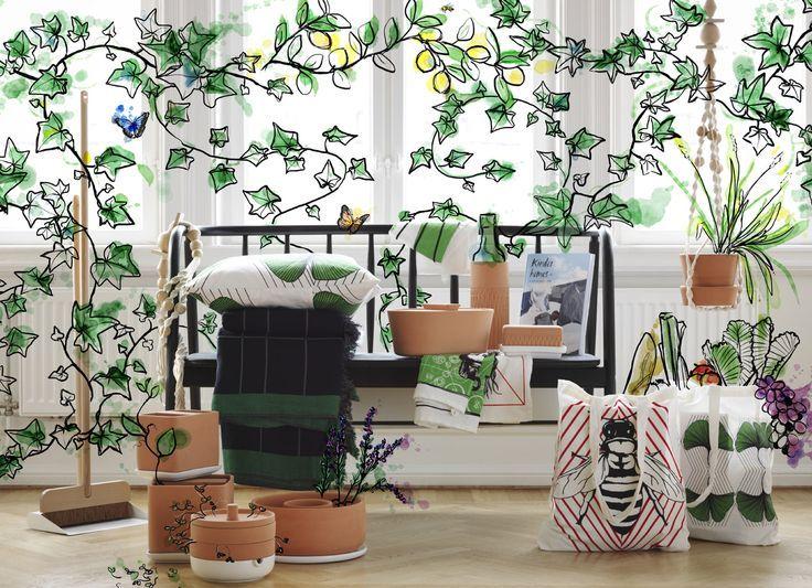 Idée Décoration Maison En Photos 2018 \u2013 nouveauté Ikea tendance été - comment installer la terre dans une maison
