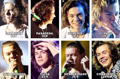 Harry Wwa September 12th September 27th Harry Styles Hair Where We Are Tour Harry Styles