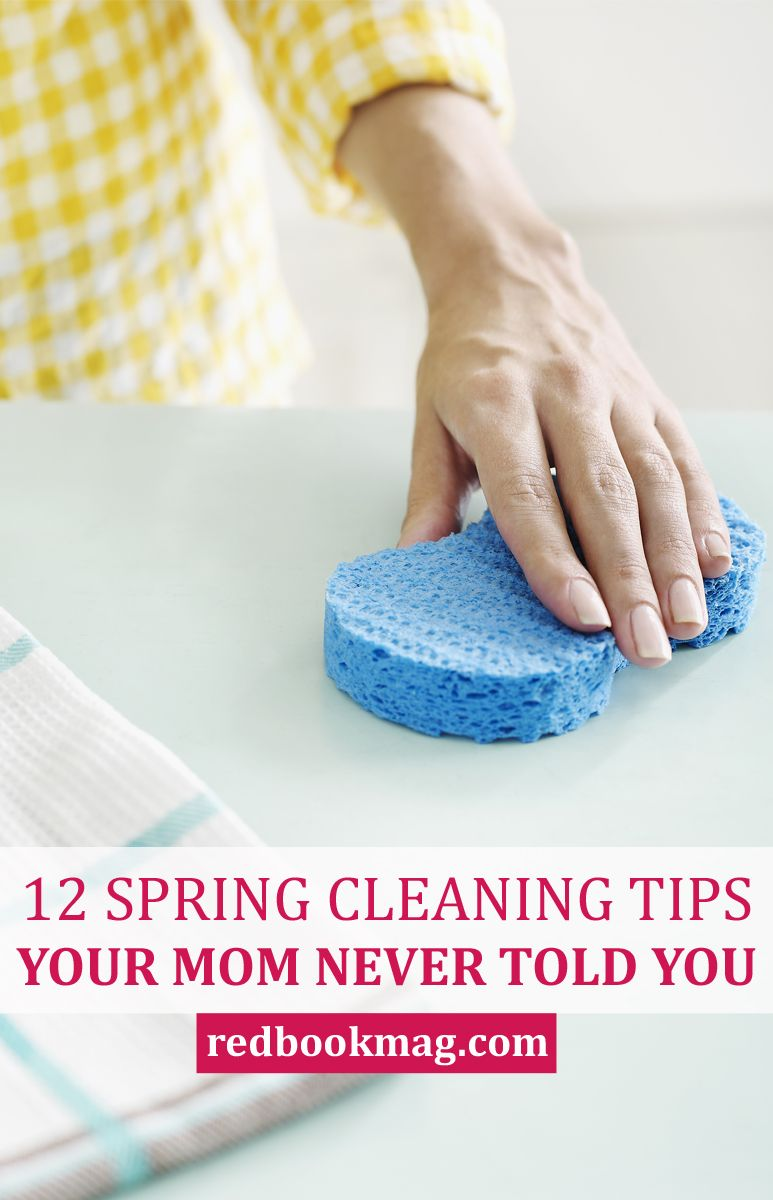 17 Spring Cleaning Tips Your Mom Never Told You