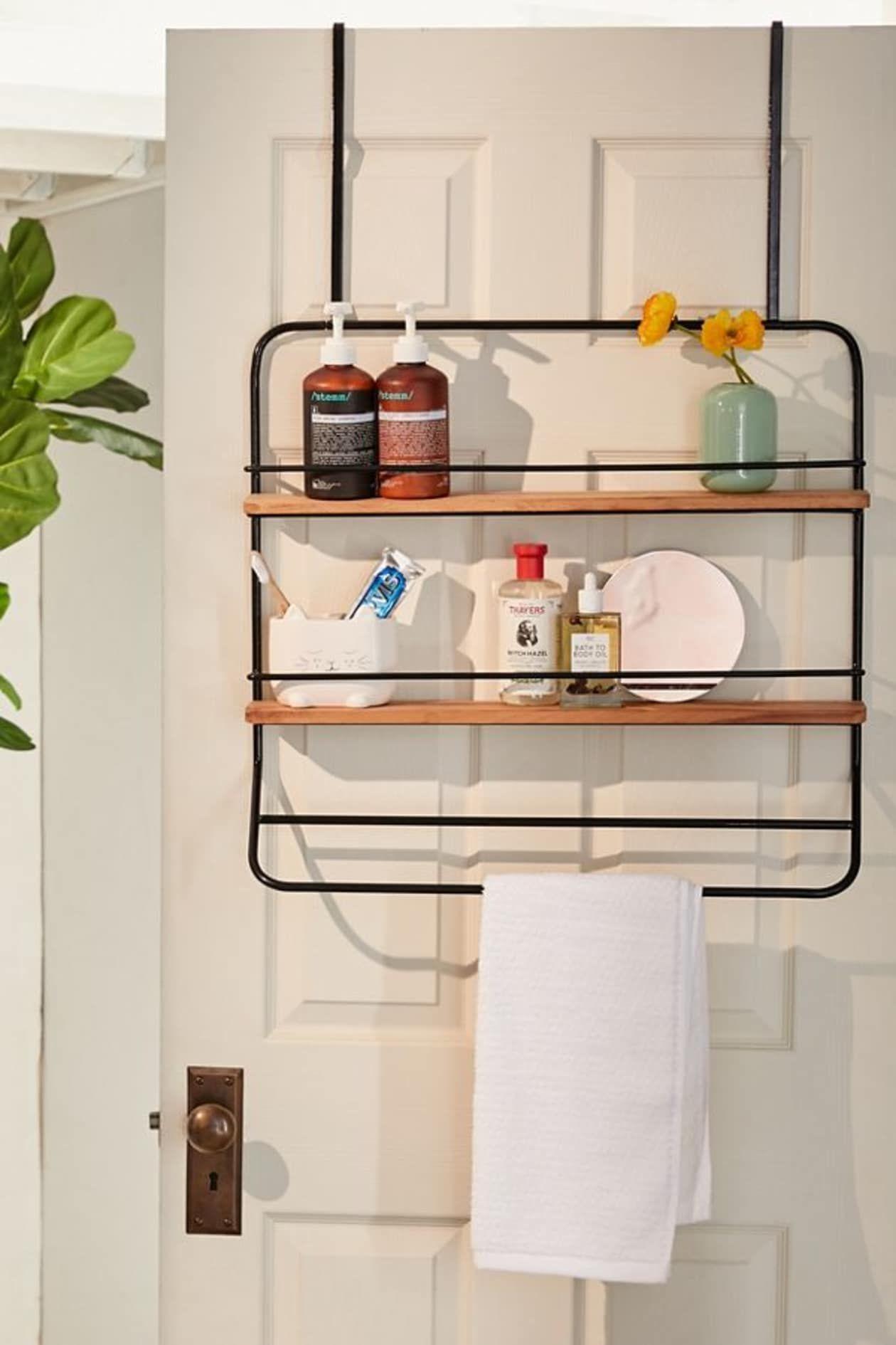 Small E Bathroom Storage Rack Diy