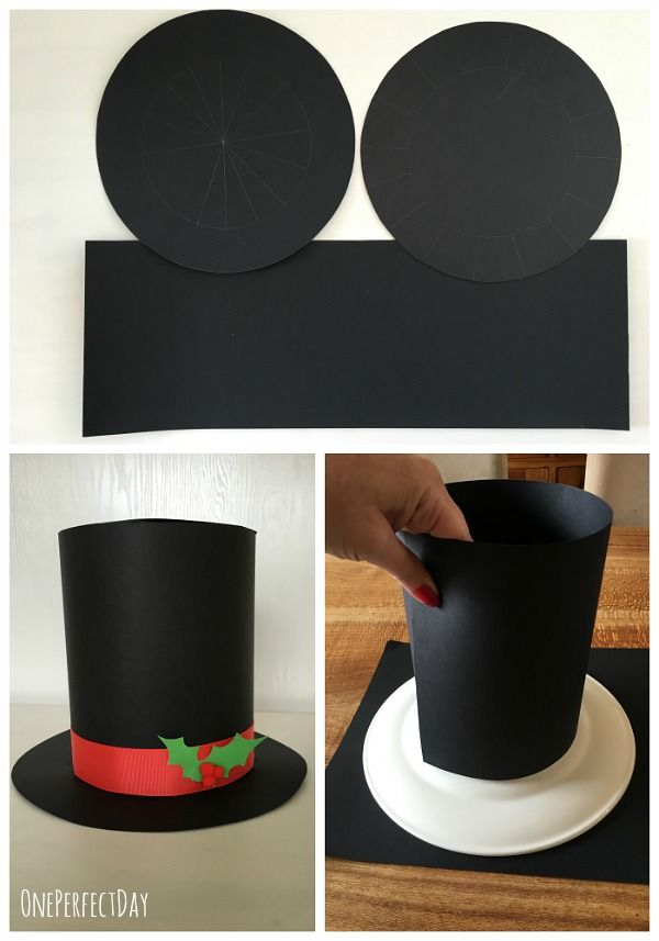 Diy Kids Top Hat Mad Hatter S Hat Shoppe Craft Let S Party