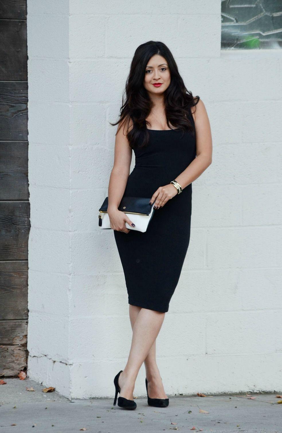 The Little Black Flattering Dress for Different Body Types | Zara ...