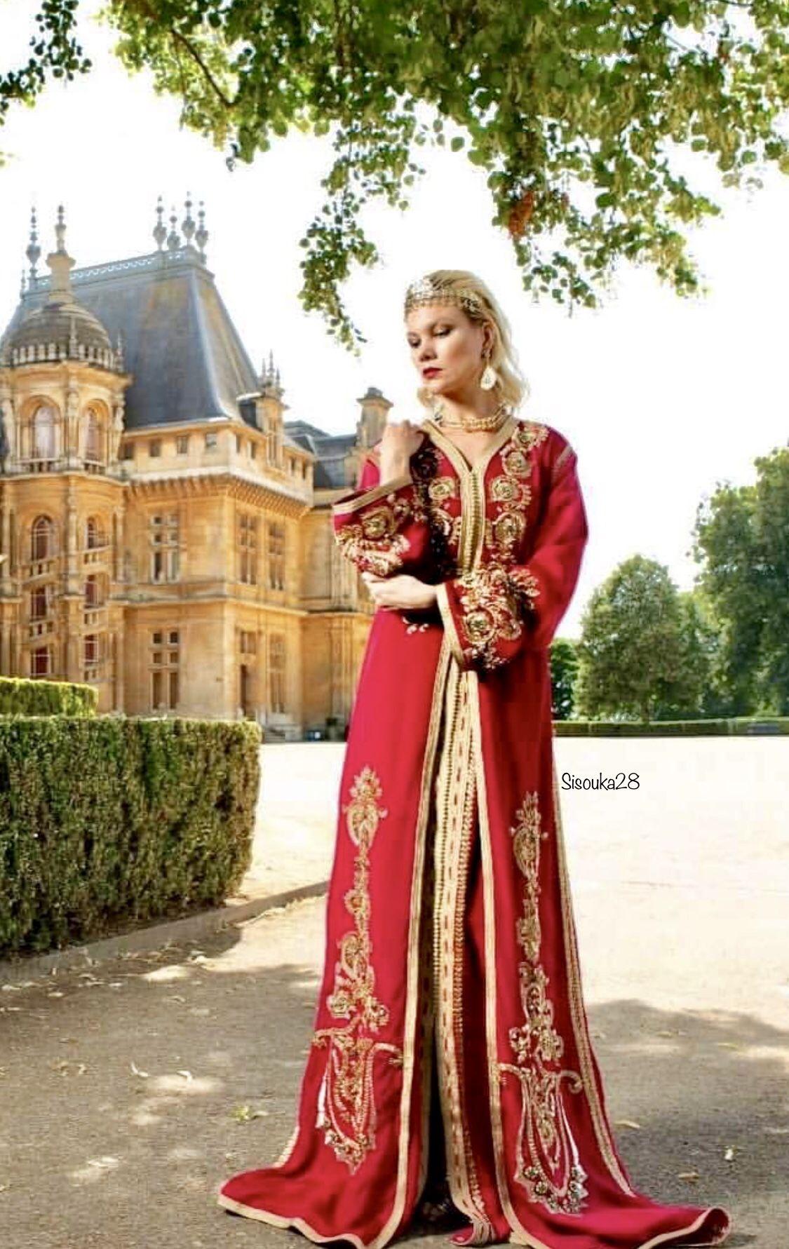 Rafinity haute couture caftan du maroc القفطان المغربي in