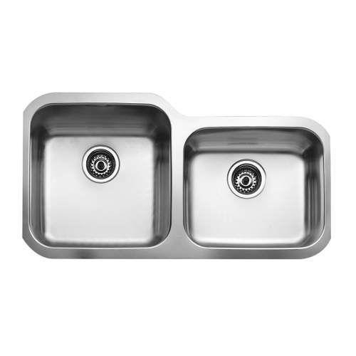 Teka Be 2b 880 Undermount 1 75 Bowl Stainless Steel Kitchen Sink
