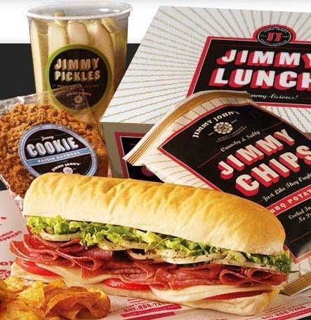Jimmy John's Gourmet Sandwiches Places I have eaten