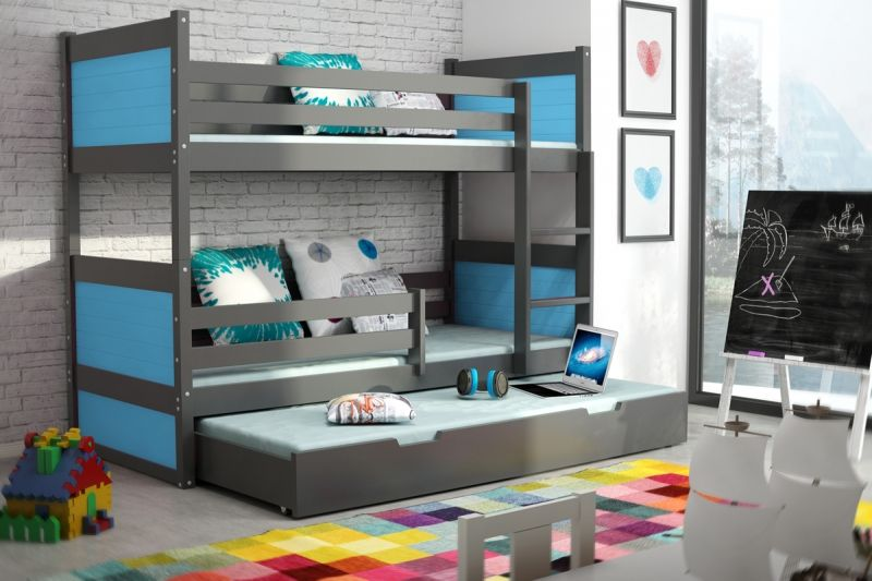 stockbett kinder trendy etagenbett beni lform mit regal buche massiv wei with stockbett kinder. Black Bedroom Furniture Sets. Home Design Ideas