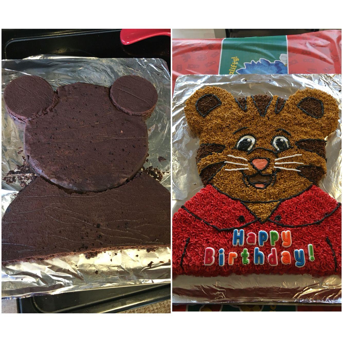 Daniel Tiger cake!