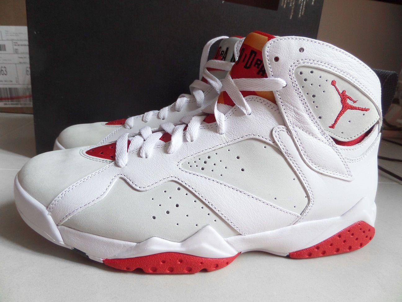 6cbf7fc73f5 100% Auth Nike Air Jordan VII 7 Retro Hare Bugs Bunny sz 9 [304775-125]