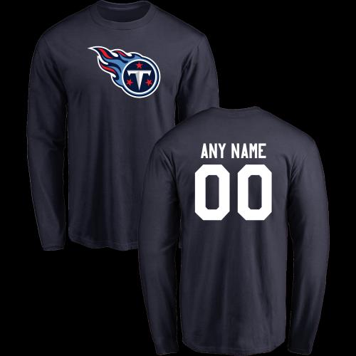 cc65d88c358 Men Tennessee Titans Design-Your-Own Long Sleeve Custom NFL T-Shirtcheap nfl  jerseys