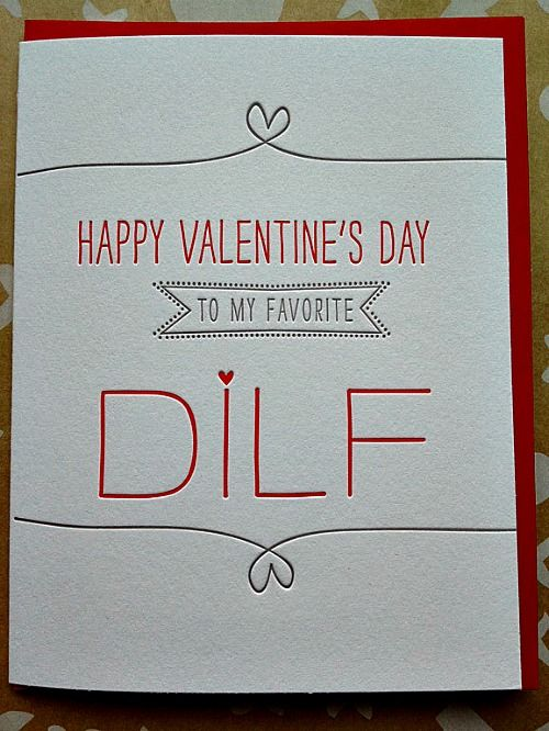 Toll Valentineu0027s Day Card For Husband, Boyfriend Card, Hot Dad Card   DILF Card    Letterpress Valentines Day