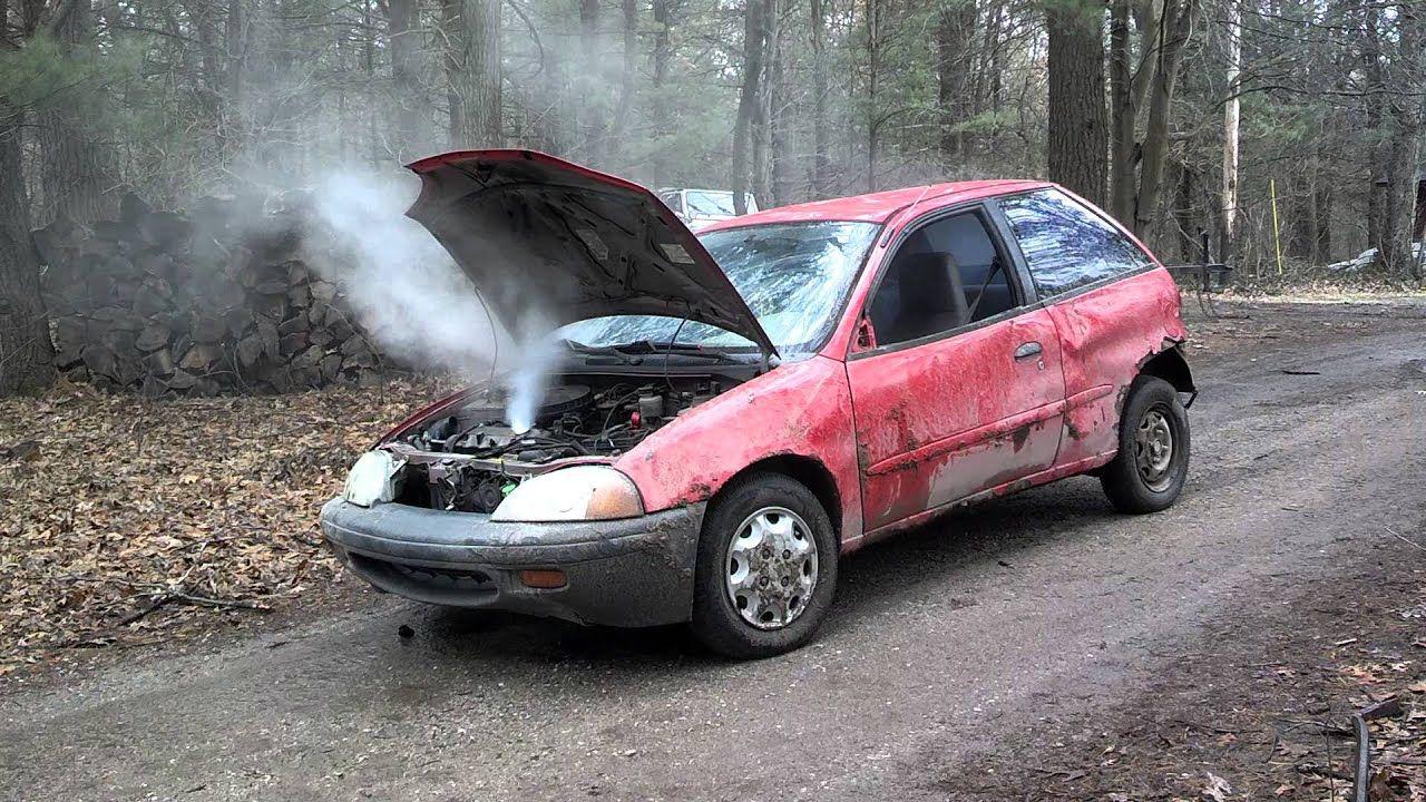 Blown engine bad transmission collision damage sell