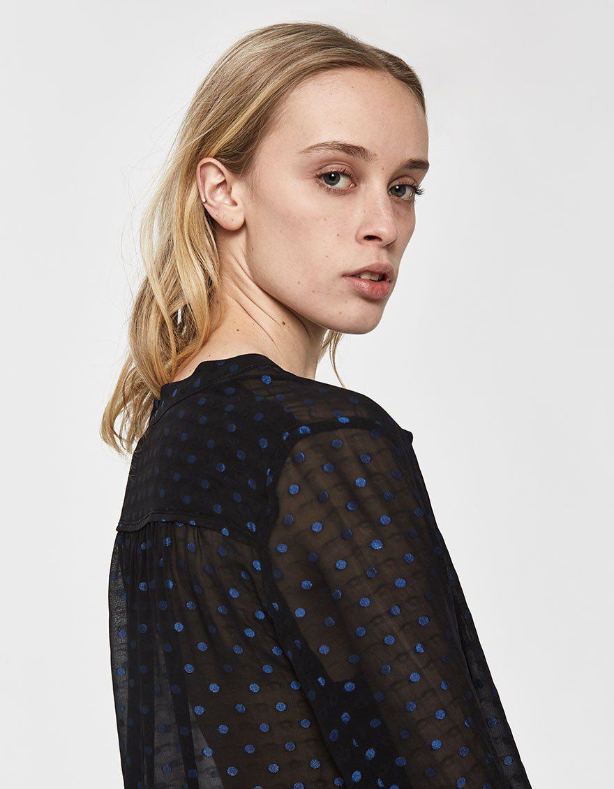 36e7f78cbf0d11 Just Female   Derek Polka Dot Shirt in 2019