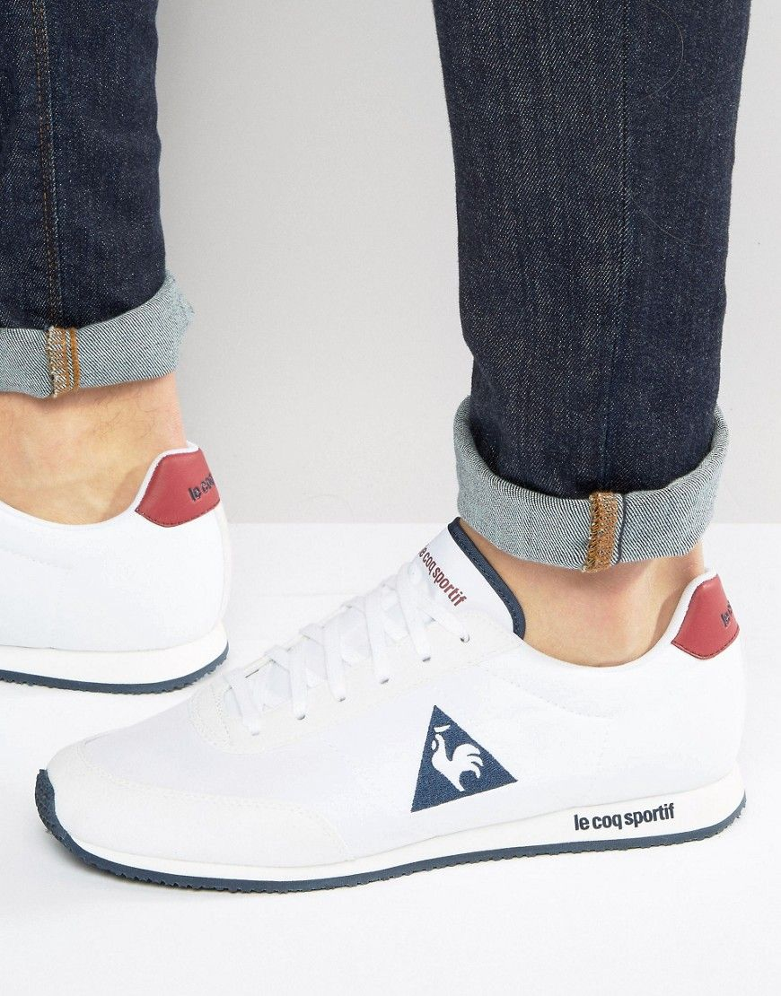 31de6bfc058 LE COQ SPORTIF RACERONE SNEAKERS IN WHITE 1711238 - WHITE.  lecoqsportif   shoes