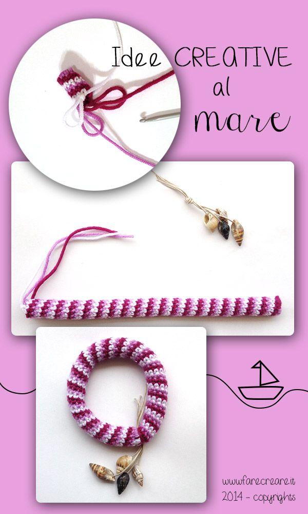 Bracialetto Uncinetto Uncinetto Crochet Bracelet Crochet Collar