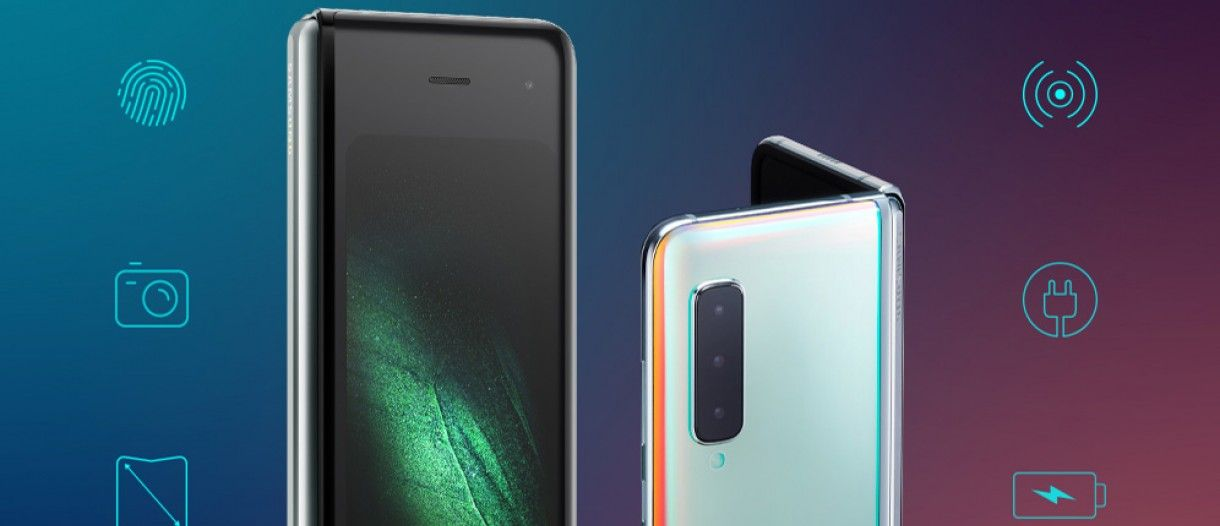 Samsung Galaxy Fold Infographic Describes The Phone S Front Back And Inside Gsmarena Com News Samsung Galaxy Samsung Galaxy