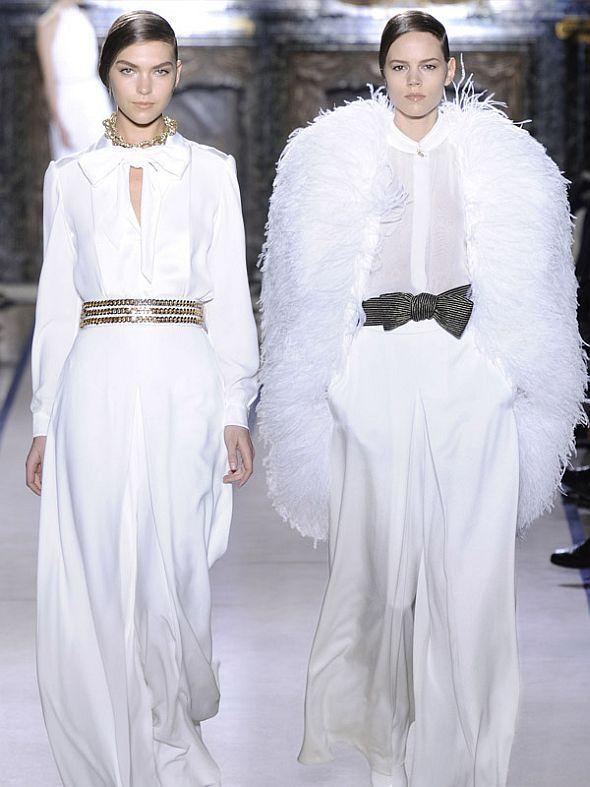 yves-saint-laurent-wedding-dress | The Look | Pinterest