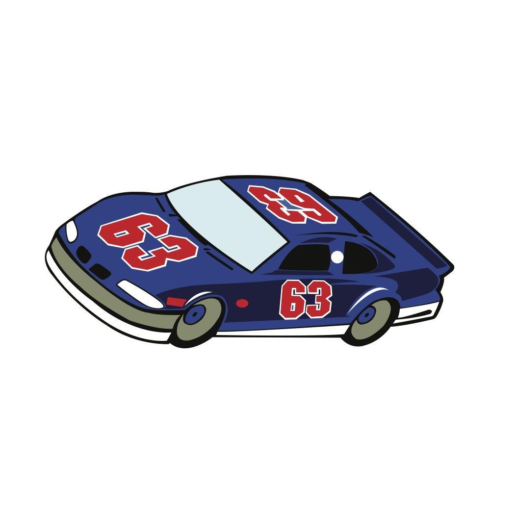 Free Svg File Nascar Racing Car Beaoriginal