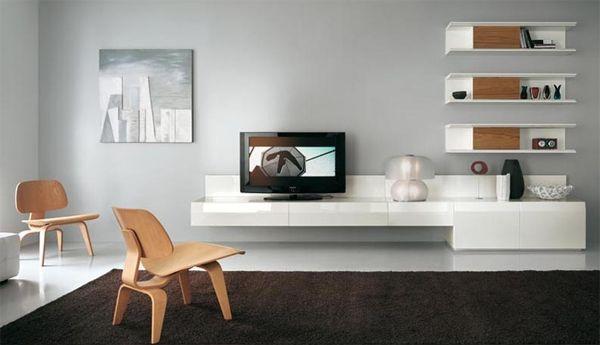 طاولات تلفزيون مودرن Tv Wall Unit Wall Tv Unit Design Modern Tv Wall Units