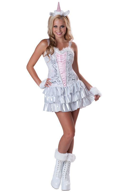 enchanted unicorn teen costume - Girls Teen Halloween Costumes