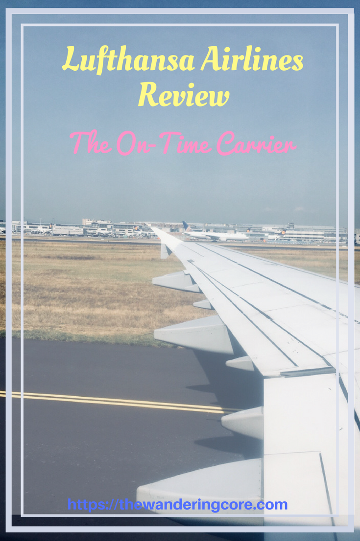 Lufthansa airline economy class review The OnTime