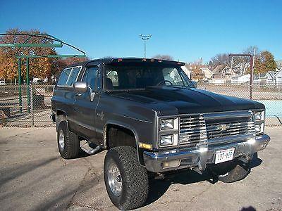 1981 Chevrolet Blazer 2 Door 1981 Chevrolet 2door K5 Blazer 5 7l