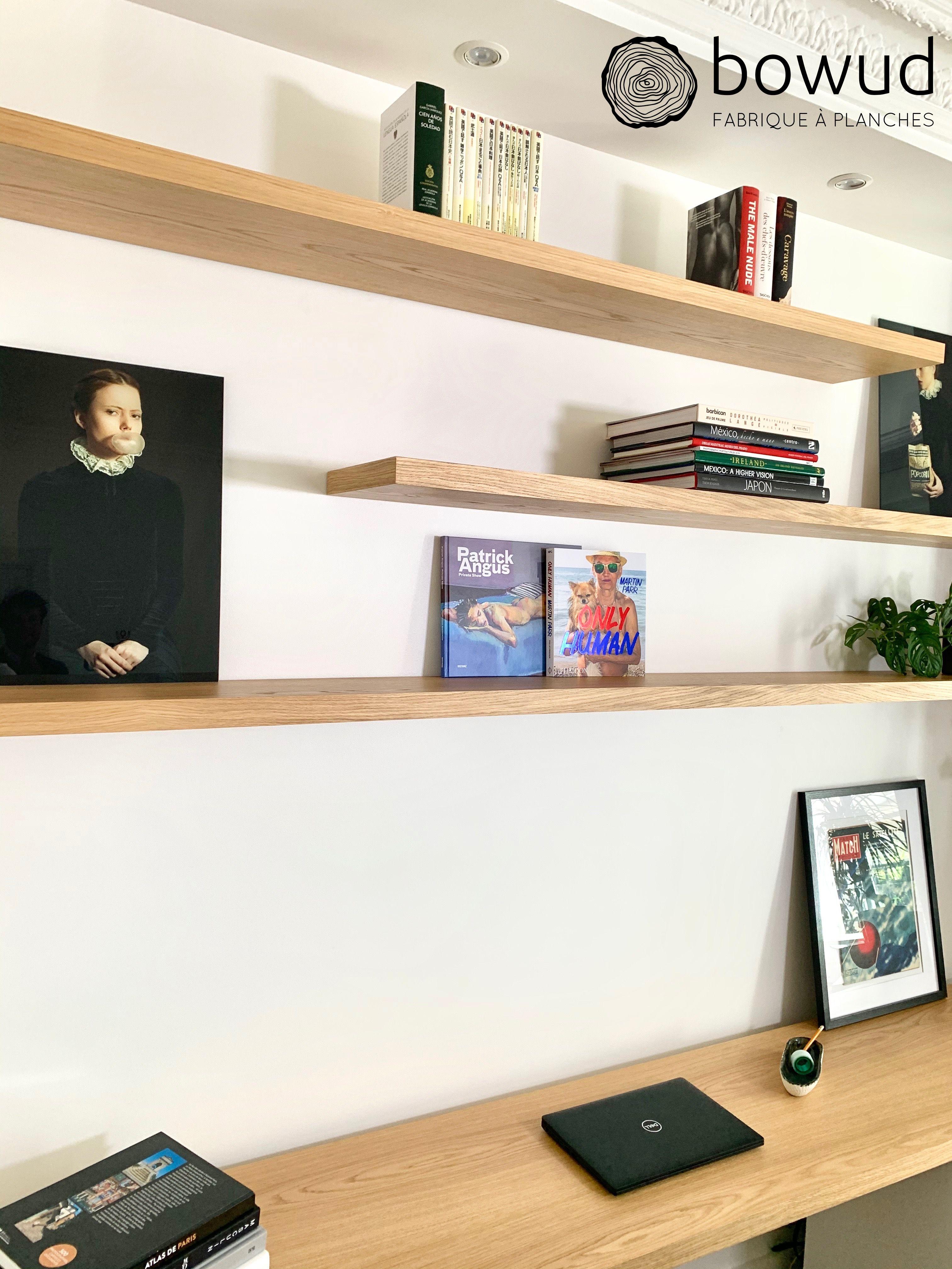 bureau et etageres murales emilien