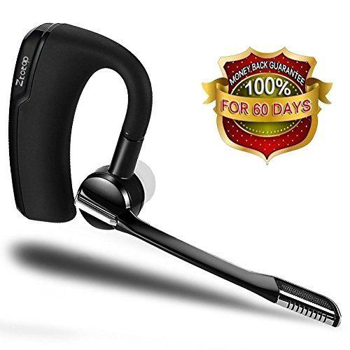 From 21 45 Bluetooth Headset Ztotop Hands Free Wireless Bluetooth Earpiece Sweatproof Noise Cancelling Bluetooth Earpiece Wireless Headset Bluetooth Headphones
