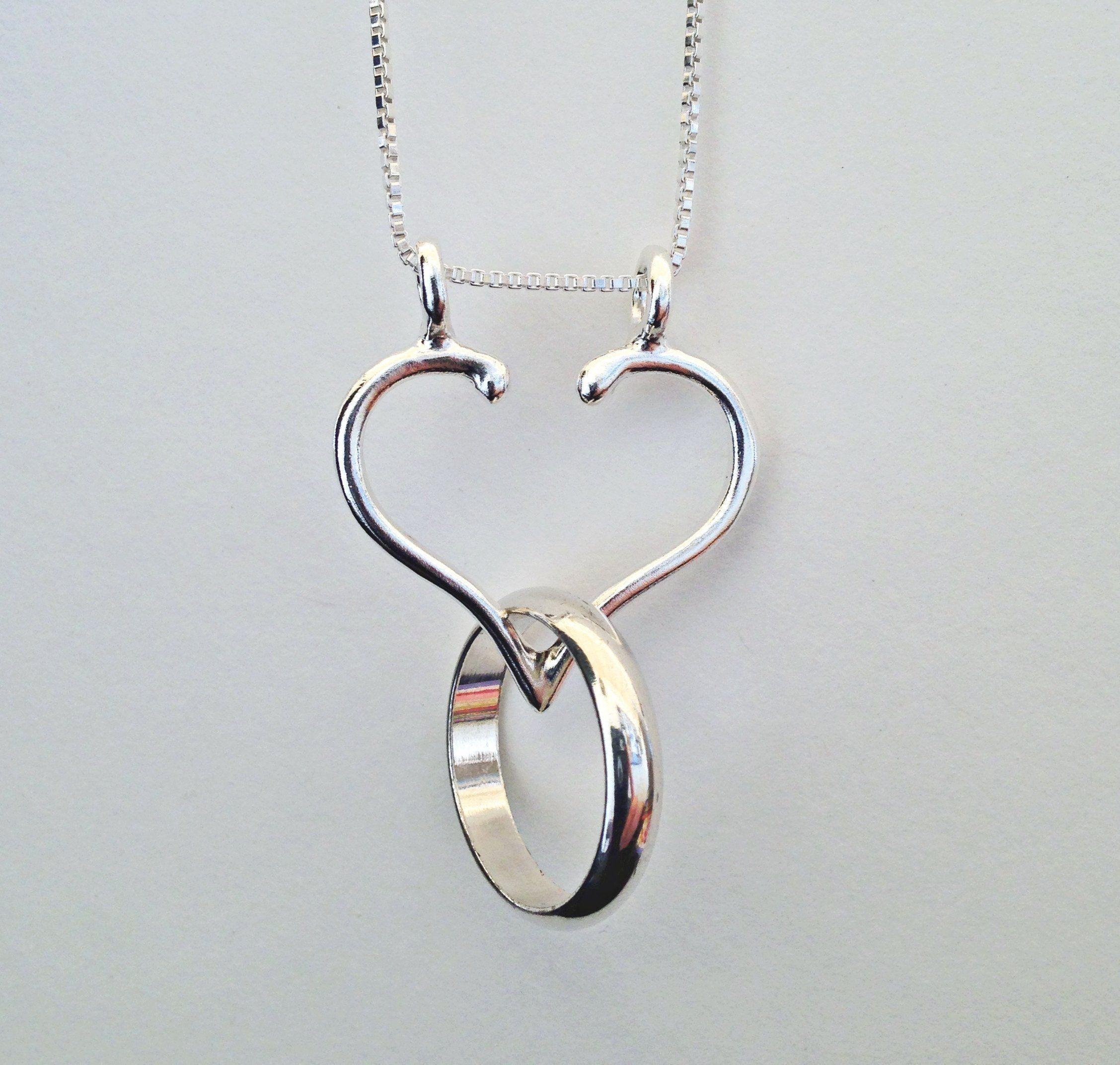 26++ Wedding ring necklace holder info