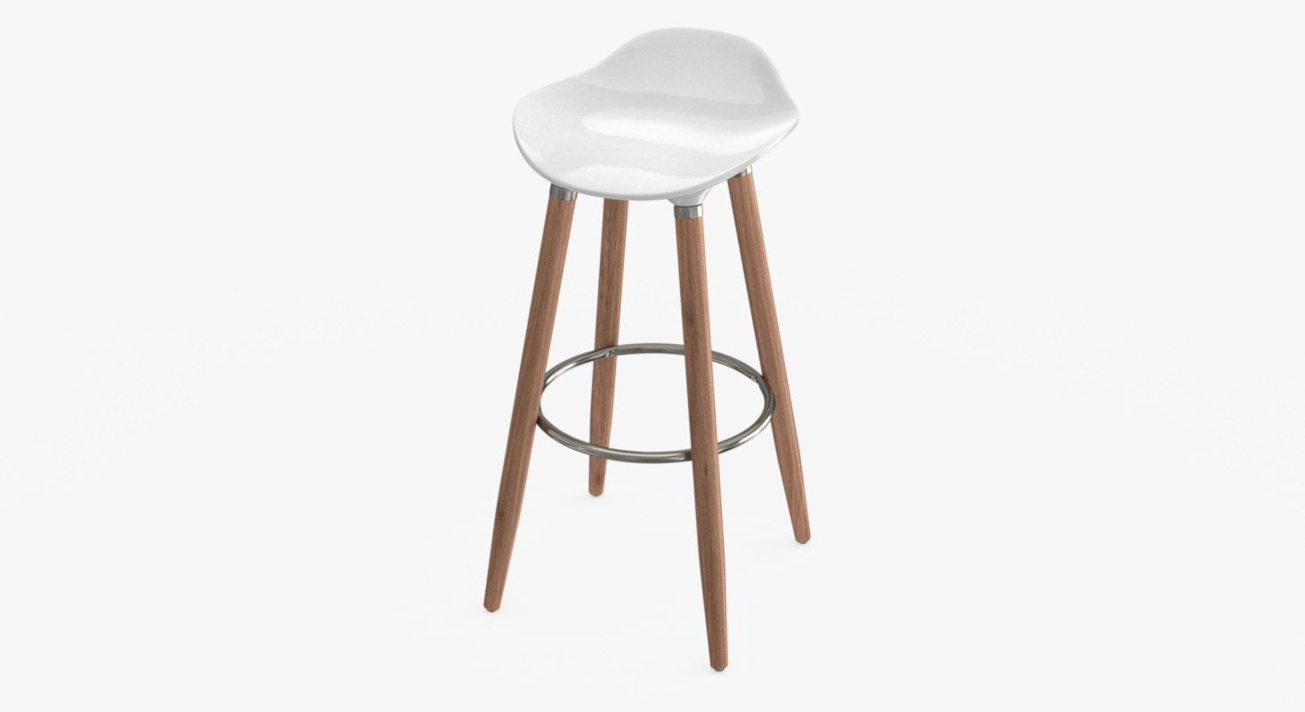 This Is A High End Stemcell Certified Photorealistic Tractor Counter Stool 3d Model Available In Both Working Environ Barnye Stulya Dizajn Interera Interer