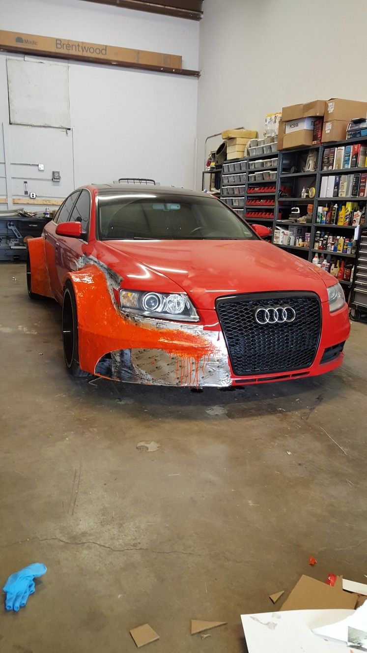 Started The Dtm Racing Style Widebody A6 Kit We Are Building Follow