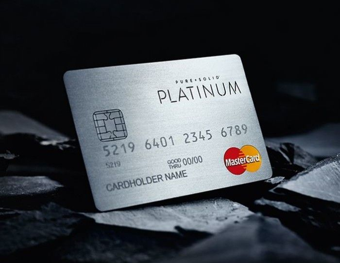 Exclusive Pure Solid Credit Cards Made From Precious Metals Credit Card Design Cards Credit Card