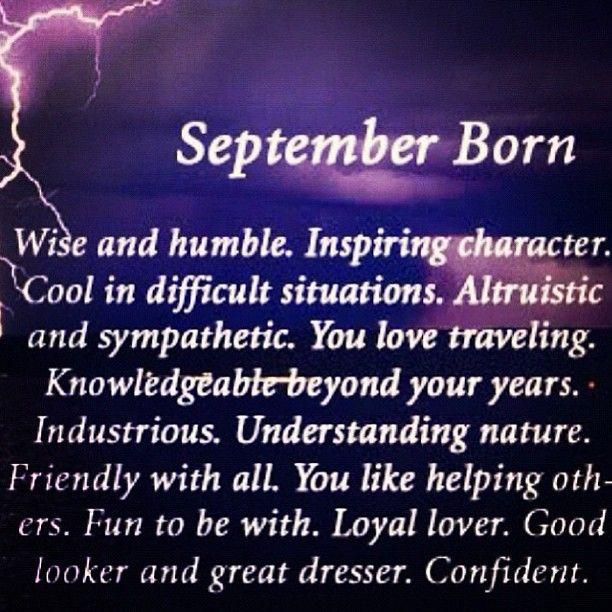 September born Libra | September birthday quotes, Hello ...