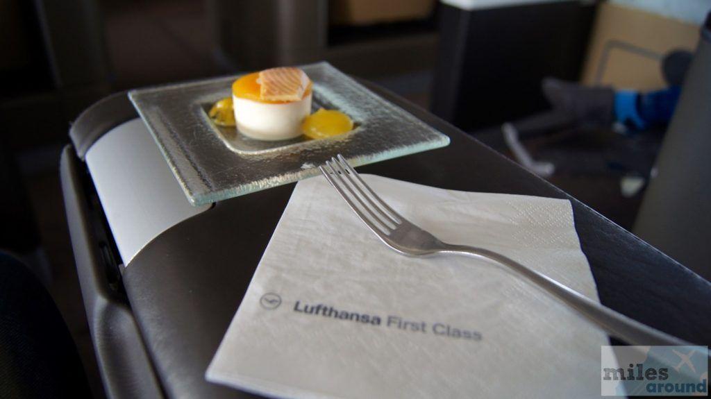 Lufthansa First Class in der Boeing 747400 nach Vancouver
