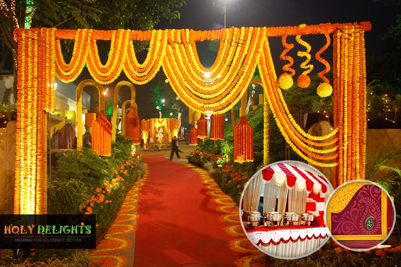 Special Bengali Wedding Decoration Let S Party Wedding Hall