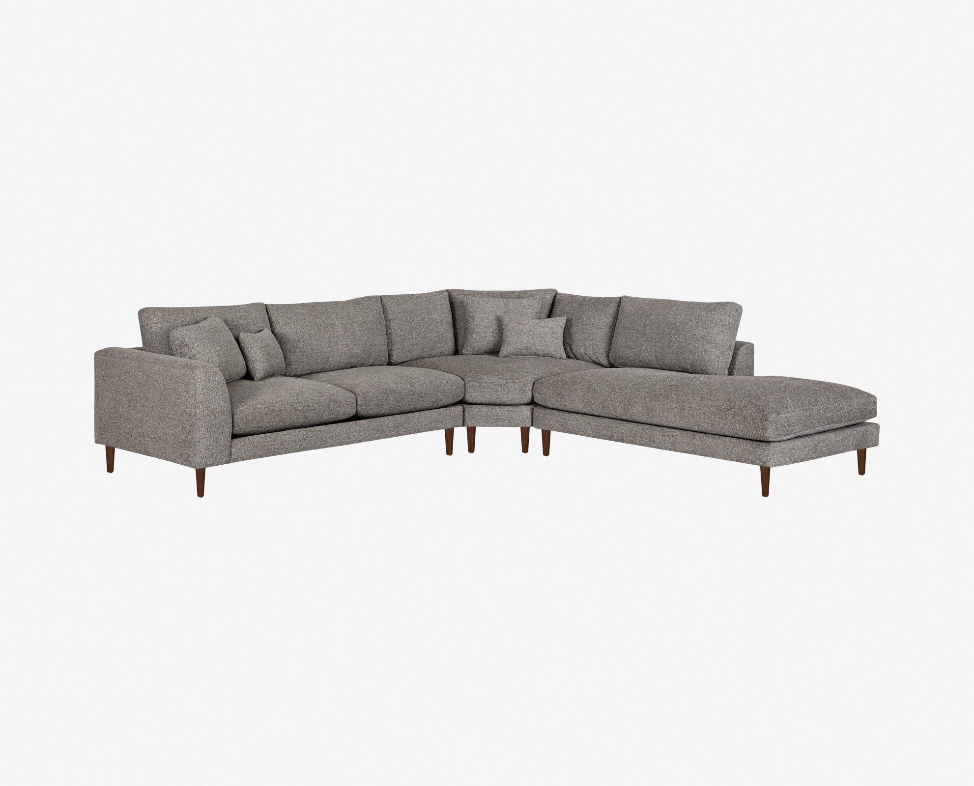 Klassische Sofas You Can Assemble Dania The Grand Hugo Sectional Is A Great Value And A Perfect