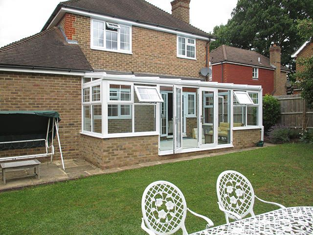 Sun Lounge Conservatory with Activ Blue Climate Guard ...
