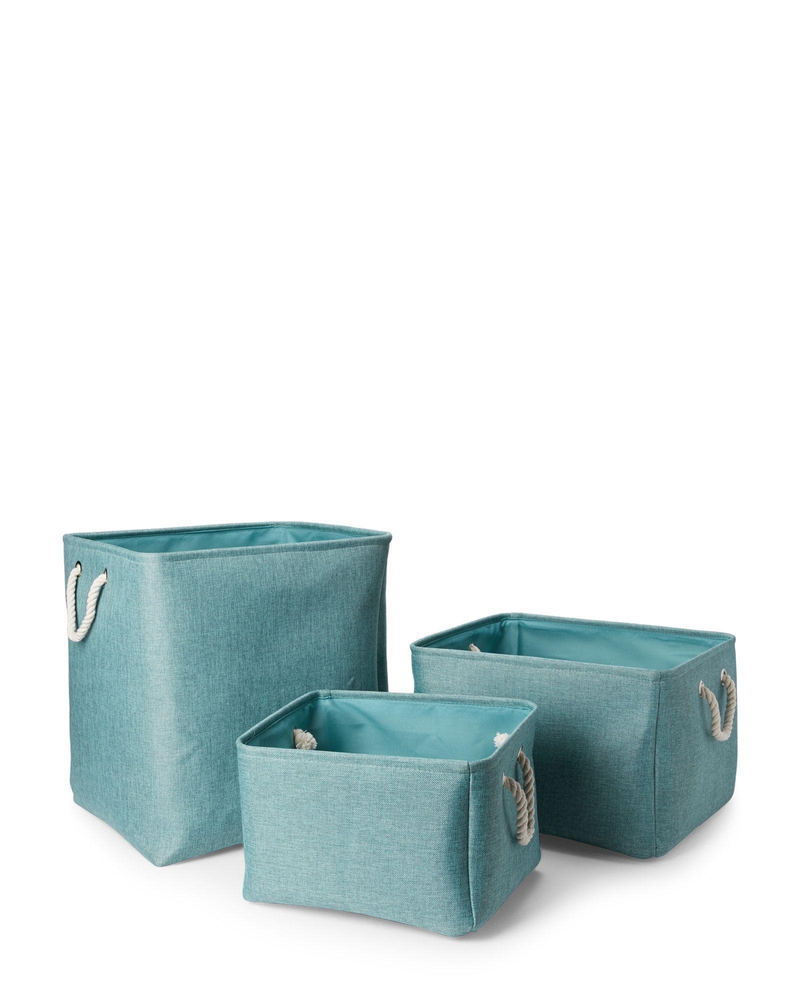 Kenton Grey Melange Jute Storage Bin Jute Storage Bin Grey