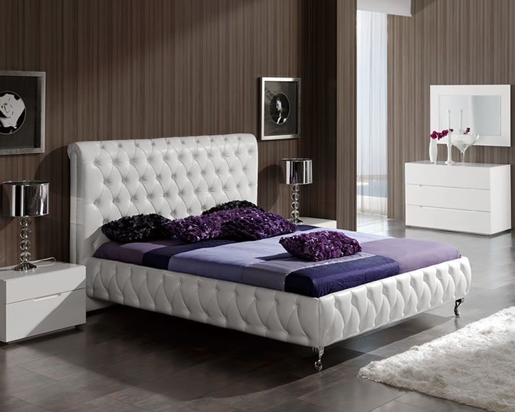 Attrayant Modern Adriana White Bedroom Collection By Dupen ESF