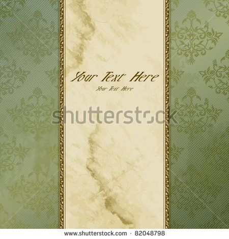 Victorian grungy vintage banner (eps10); jpg version also available