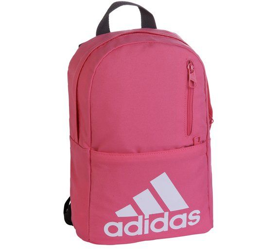 the latest 1b5a0 50386 Buy Adidas Versatile Kids Pink Backpack at Argos.co.uk - Your Online Shop