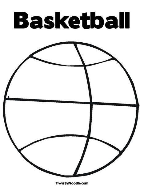 basketball coloring page play ball pinterest