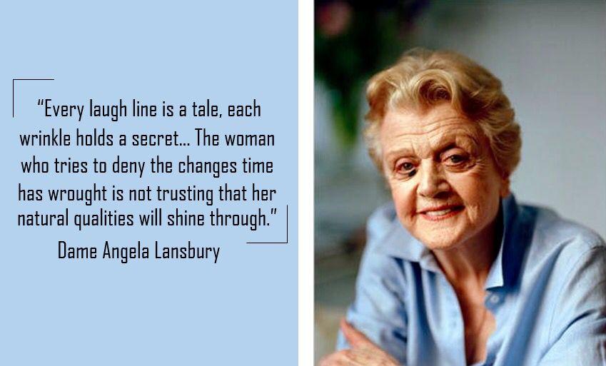 Photo of Angela Lansbury Es ist sehr wahr in diesem Zitat. Auf klassische Weise!