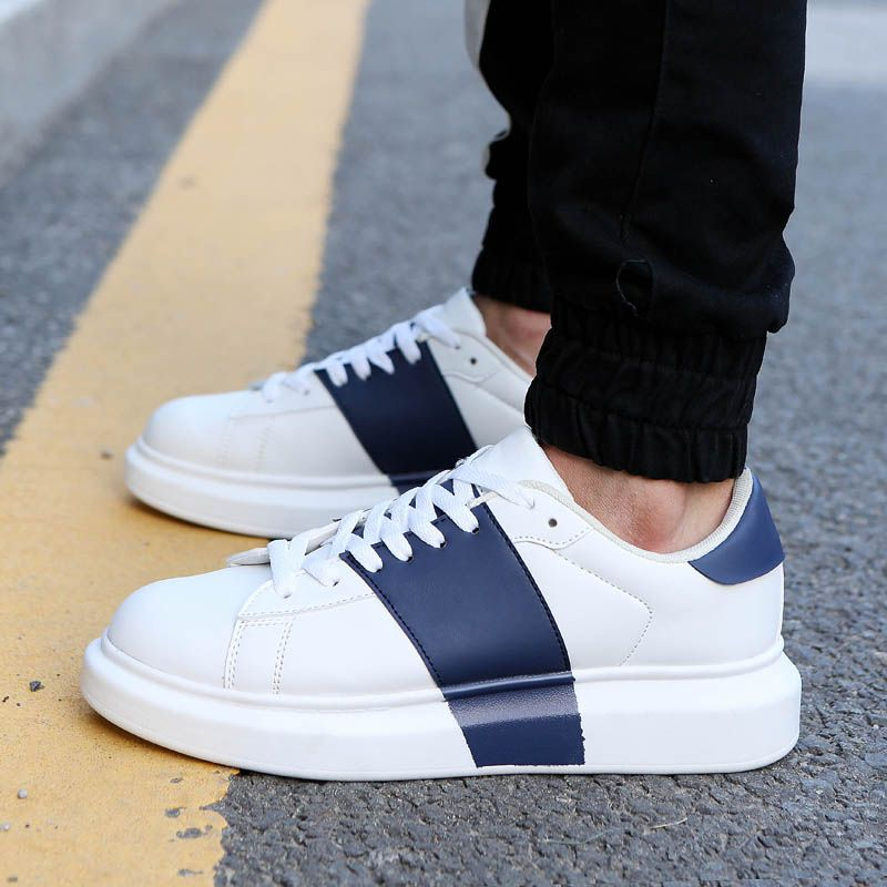 Find More Men's Fashion Sneakers Information about New men's platform  sneakers brand design autumn causal sport