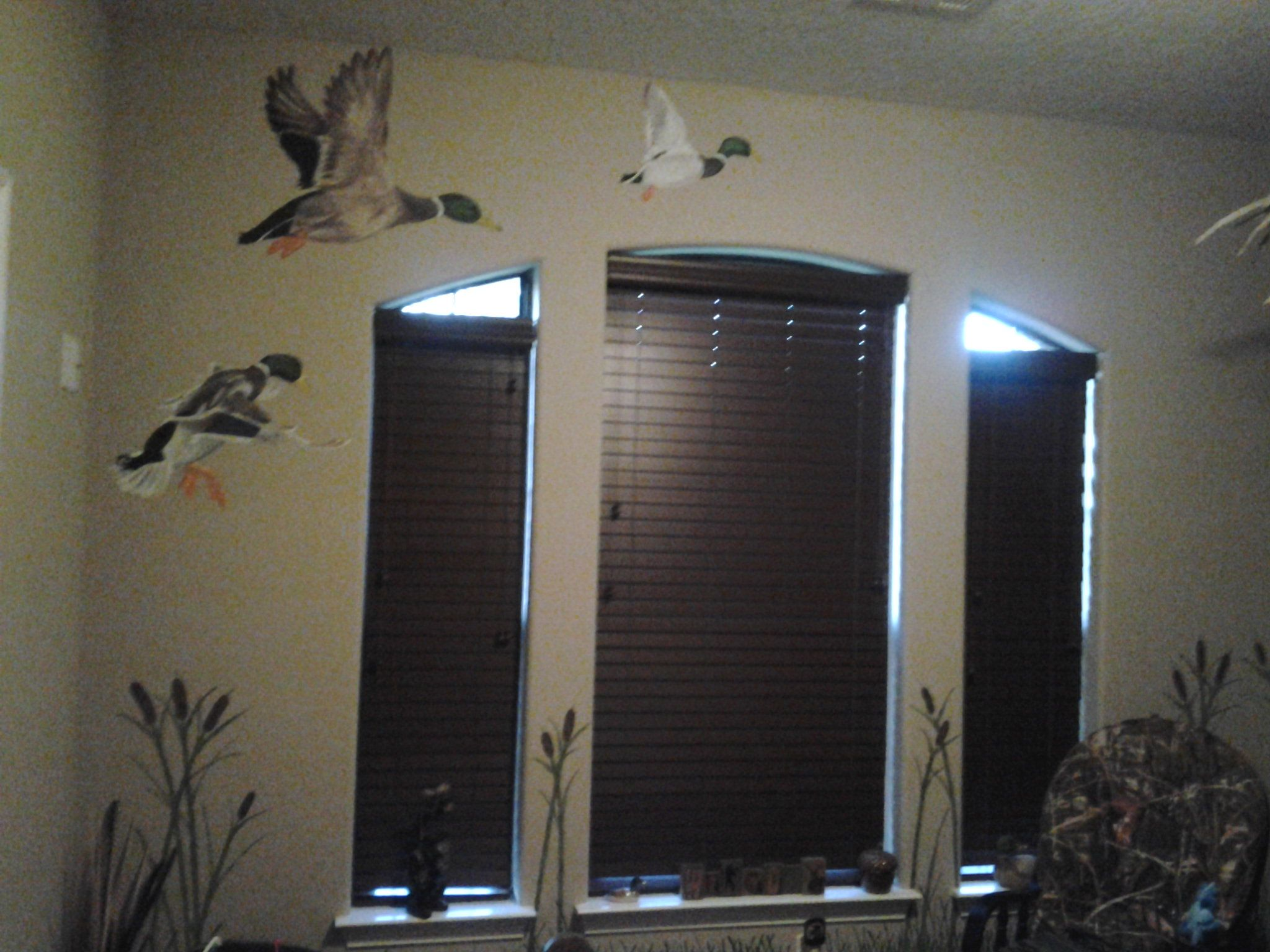 Duck Hunting Nursery Wall
