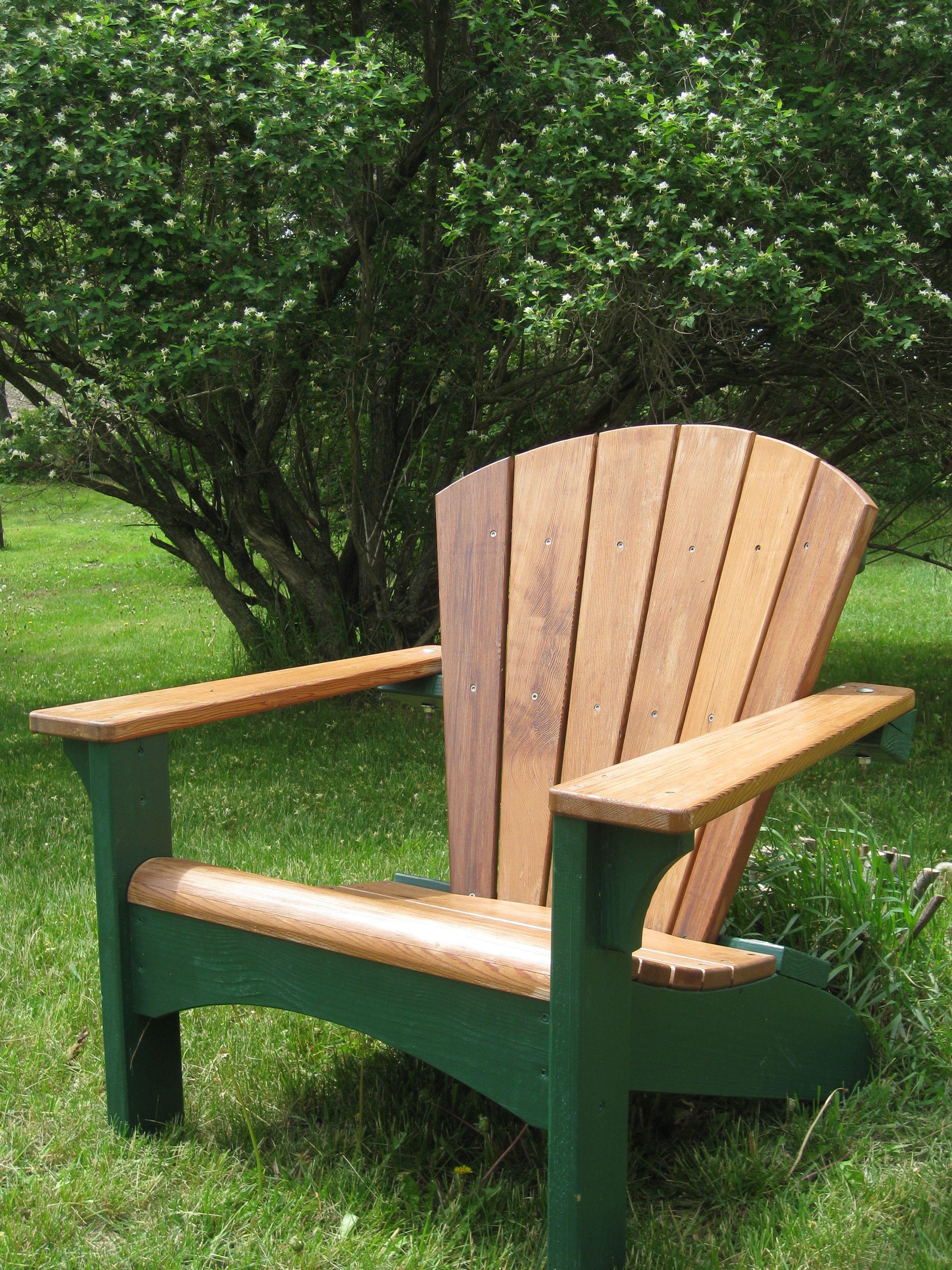 Diy redwood adirondack ready to relax adirondak chairs