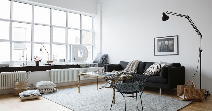 Witte Loft Stockholm : Industrial loft in stockholm grey stuff