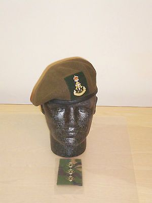 British army  green  howards  officer beret c364434f61f