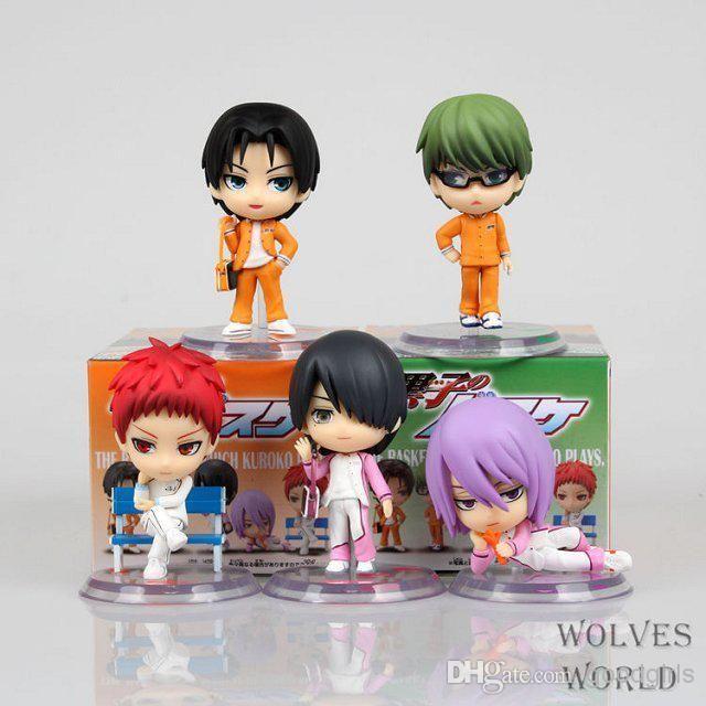 Anime Kuroko's Basketball Kagami Taiga Takao Kazunari Midorima Shintarou PVC Action Figure Toys 5cm KBFG006 from Goodgirls,$12.93   DHgate.com